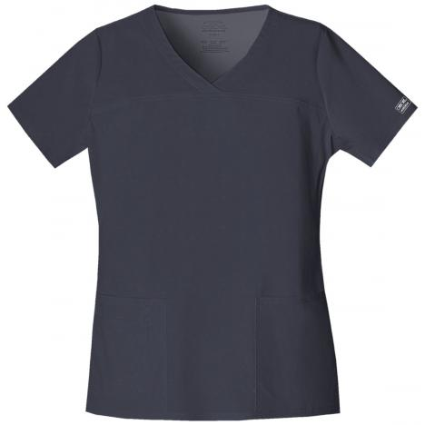 Cherokee Ladies V-Neck Crossover Top 4727